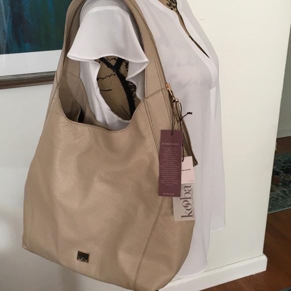 e35fb58e4 Kooba Bags | Nwt Oakland Hobos Bag Latte | Poshmark